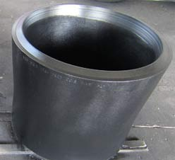 A234 WPB Concentric Reducer, DN400 X DN350, BE