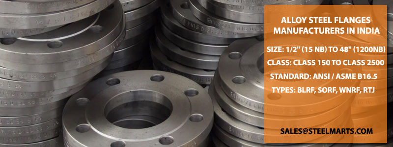 Alloy Steel Flanges manufacturers in India
