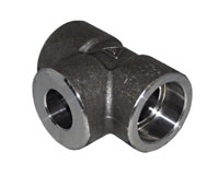 A694 Carbon Steel Gr F65 Threaded Reducing Tee