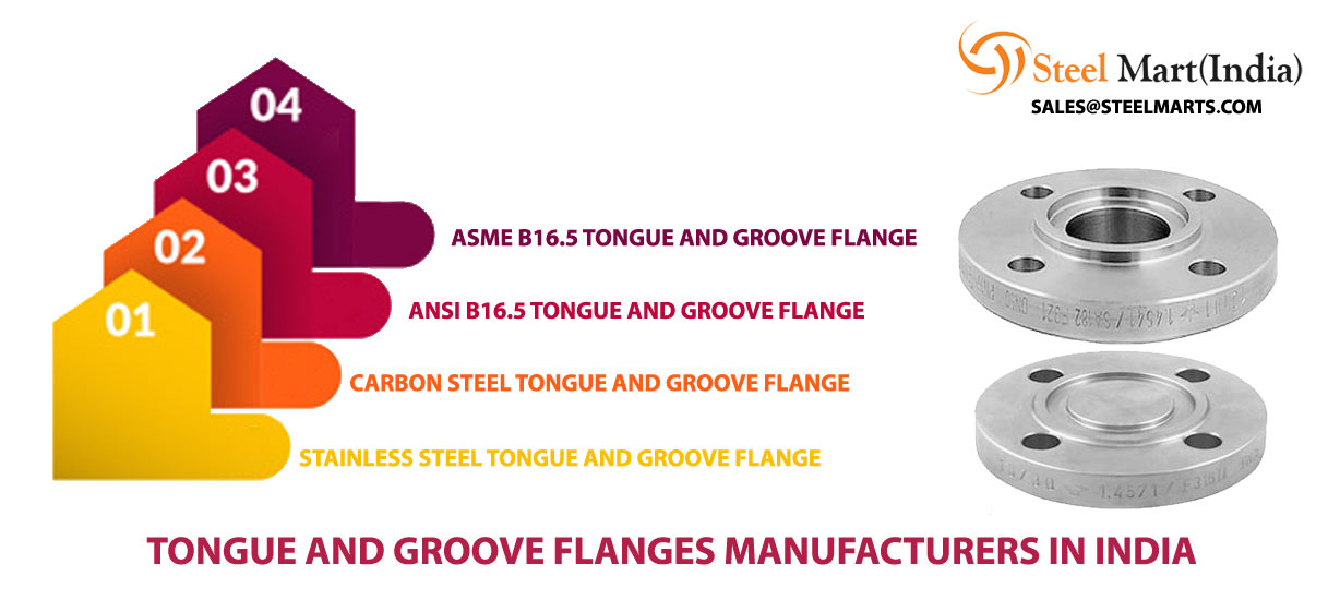 Stainless Steel Groove and Tongue Flange Manufacturers in India