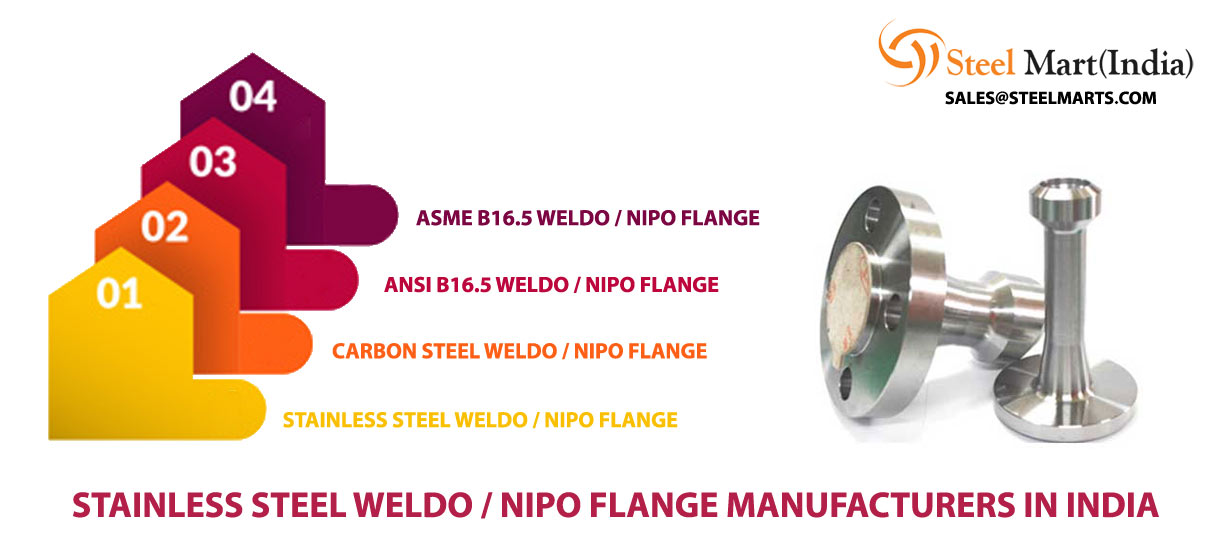 Stainless Steel Weldo / Nipo Flange Manufacturers in India
