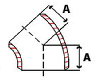 ANSI/ASME B16 9 3D Elbow, Welding Elbow, 3D Elbow