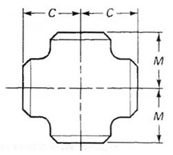 ASME B16.9 Buttweld Equal Cross Manufacturers