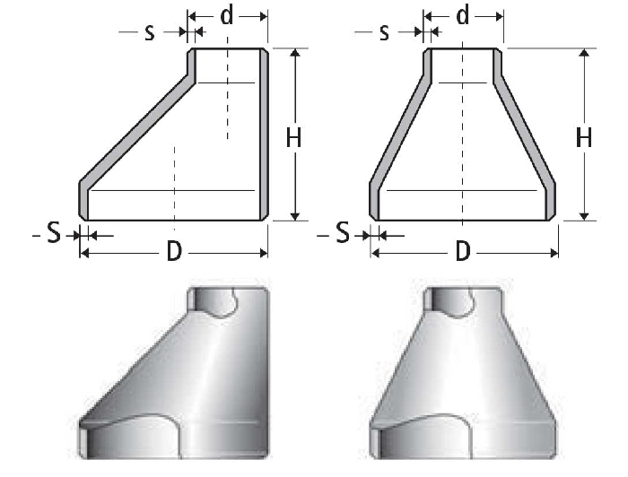ASME B16.9 Eccentric Reducer Manufacturer In India