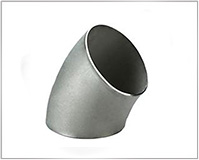 ASTM A234 WP11 Alloy Steel 45° Short Radius Elbow