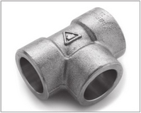 ASTM A182 Alloy Steel F22 Forged Socket Weld Tee