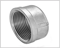 ASTM A182 Alloy Steel F22 Forged Threaded Cap