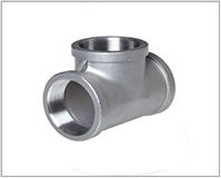 ASTM A182 Alloy Steel F22 Threaded / Screwed Tee