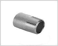 ASTM A182 Alloy Steel F22 Threaded / Screwed Pipe Nipple